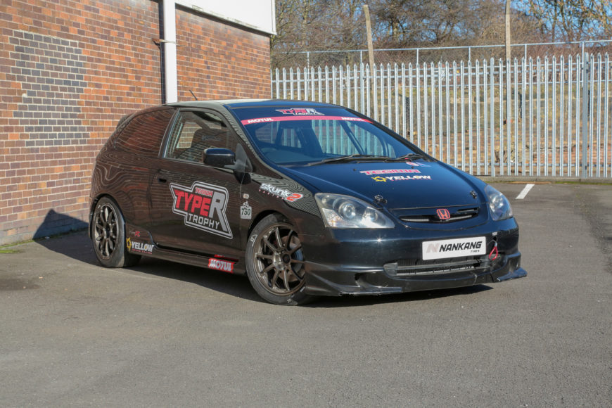 2001 HONDA CIVIC EP3 TYPE R RACE CAR – TYPE R TROPHY READY – £SOLD