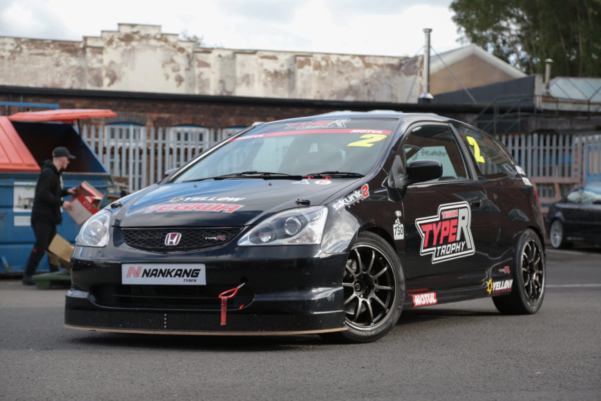 2002 HONDA CIVIC EP3 TYPE R RACE CAR – TYPE R TROPHY READY – £SOLD