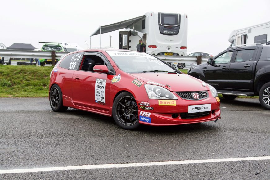 2005 HONDA CIVIC EP3 TYPE R RACE CAR – TYPE R TROPHY READY – £8,995
